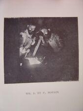Portraits Phototypie de Joseph et Pierre MOUGIN Sculpteur céramistes Nés à Nancy