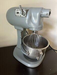 Hobart N50 Commercial Mixer Gear-Driven 5 Quart, Gray N-50