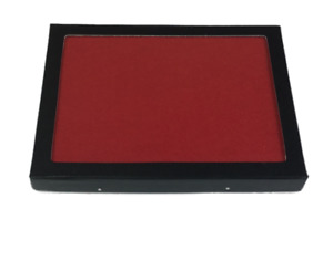 Riker Display Case 6 x 8 x 3/4 with RED FELT for Collectibles Arrowheads & More