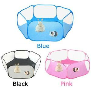 Portable Pet Playpent Small Animal Cage Game Playground Fence for Hamster