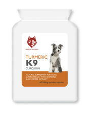 TURMERIC for Cats and Dogs with Bioperine 500mg Equivalent to10000mg 60 caps