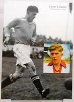 Ernst Lehner + Fußball Nationalspieler DFB + Fan Big Card Edition B411 +