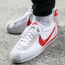 Nike Classic Cortez Nylon Red White Uk Size 8.5 Eur 43 807472-101