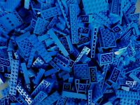 LEGO Blue 1/4 lb Bulk Lot of Bricks Plates Specialty Parts Pieces