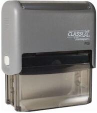 Classix P09 - Xstamper Custom 4 line Business address Self-Inking Rubber Stamp