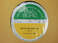 BBC 304 Transcription Disc TOP of the  POPS Slade Caravan Kinks Tangerine Peel