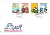 FDC Suisse - 200 ans de tourisme 4.9.1987