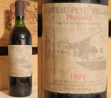 1974er Chateau Petit Village - Pomerol  !!!!!!!