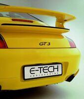 E-Tech Black ABS Plastic Car Vehicle Number Plate Registration Plate Holder