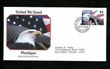 Postal History FDC #13 St. Vincent Grenadines Mustique United We Stand WTC 9/11