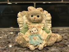 1992 Friends Are Cuddles Of Love Reg # C30/831 Calico Kittens Enesco No Box