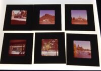Vintage Photo Color Slides Lot Of 28 Bend Area Grants Pass