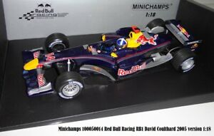 Minichamps 100050014 Red Bull Racing RB1 David Coulthard 2005 version 1:18