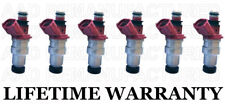 6X Genuine Denso Fuel Injectors For 88-91 Toyota Camry 90-91 Lexus ES250 2.5L