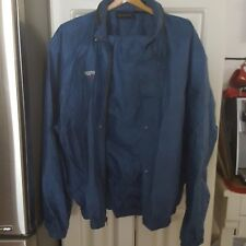 Frogg Toggs Outerwear Size Large Blue Polypropylene Rain Jacket and Pants