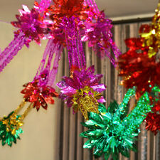 3M Large Foil Christmas Garlands Xmas Hanging Wall Decoration Ceiling Home Party
