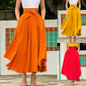 Sweet Women Pleated Skirt Elastic Waist Evening Cocktail Party Long Maxi Dress