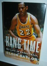 Hang Time: My Life in Basketball, autobiography of Elgin Baylor, Lakers