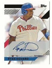 RYAN HOWARD 2014 TOPPS AUTO AUTOGRAPH MINI PHILLIES CARD!