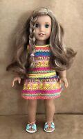 Lea Clark American Girl doll Meet dress of the year 2016 retired GOTY