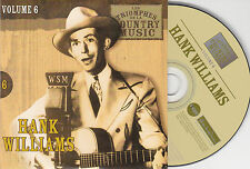 CD CARDSLEEVE 25T HANK WILLIAMS BEST OF 2002 LES TRIOMPHES DE LA COUNTRY