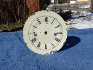 Beehive Clock Original Round Painted Dial Manross Brown Andrews Boardman Jerome