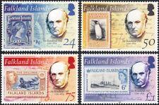 Falklands 2004 Rowland Hill/Penguins/Seals/Ship/Navy/S-on-S/Nature 4v set n44929