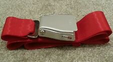 RED Airliner Scater Seat Belt Buckle Adjustable length 110cm Fashion aeroplane