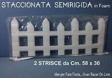 NATALE DECORAZIONE STACCIONATA in FOAM PROMOZIONE Come in Foto, 2 Pz. 58 x 30 cm