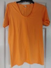 EUC - Underarmour All Season Gear Orange Fitted Yoga, Running, Exercise T-shirt