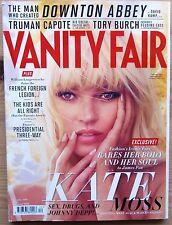 VANITY FAIR DEC 2012 KATE MOSS LANA DEL REY TAYLOR SWIFT TRUMAN CAPOTE TORY BURC