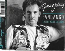 GERARD JOLING - Fandango (In the name of love) CDM 4TR Holland 1992 (Mercury)