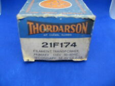 Thordarson 21F174 Filament Transformer - New Old Stock - Original Packaging