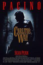 CARLITO'S WAY (1993) ORIGINAL MOVIE POSTER  -  ROLLED