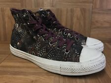 RARE🔥 Converse Chuck Taylor All Star Oriental Feather Print Peackock Women's 11