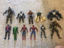 Marvel Figures Spiderman Toybiz ,hasbro  ,venom More Good Lot