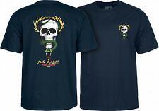 Powell Peralta Mike McGill Skull And Snake Skateboard Shirt Navy Large