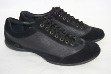 BORN Paulina Black Leather Casual Sneaker Oxford Lace up Flats Shoes Women 7