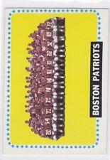 1964 TOPPS FOOTBALL BOSTON PATRIOTS TEAM #21 EX+/EXMT *61628