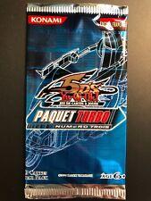 x1 BOOSTER Cartes Yu-Gi-Oh ! 5D'S Paquet Turbo Numéro Trois TU03 FR NEUF