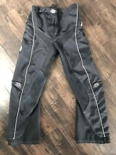 TROY LEE DESIGNS TLD REV GIRL WOMEN PANT SIZE 7/8 BLACK MOTOCROSS ENDURO