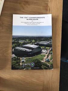 Wimbledon Tennis programme 2021 (134th Championship)