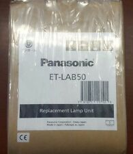 Genuine OEM Panasonic ET-LAB50 Lamp NEW