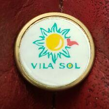 New listing Vila Sol Golf Club Ball Marker (Vintage Brass)