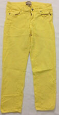 Paige Womens Skinny Jeans sz 28 Yellow Stretch B4
