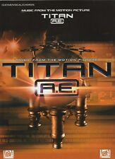 TITAN A.E. Music from the Motion Picture. Guitar, Vocal, Chords.