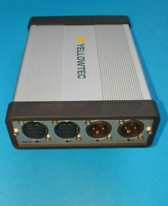 Yellowtec PUC2 |USB Soundcard |AES/EBU+XLR Line IN/OUT | PLug and Play Win+Mac |