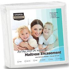 Hypoallergenic Bed Bug Matress Protector Encasement Waterproof Bedbug Cover Pad