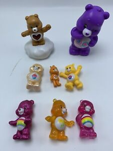 Care Bear mini Figure lot  - Carebears Just Play Collectibles