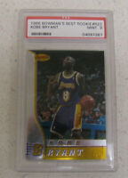 1996 Bowmans BEST KOBE BRYANT ROOKIE RC #R23 PSA 9 Mint HOF Lakers GOAT AMAZING